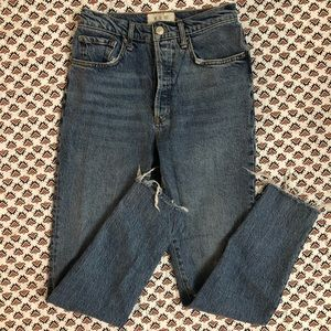 Free People High Waisted Skinny Jeans Size 27